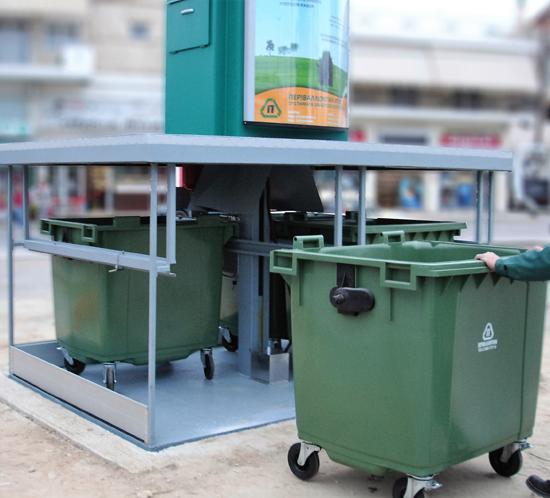 Contenedores de basura soterrados - innovaciones