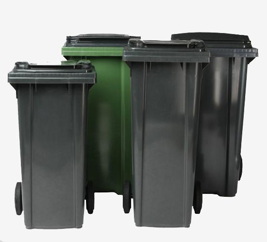 Contenedores de residuos con dos ruedas,Contenedores de residuos con cuatro ruedas
